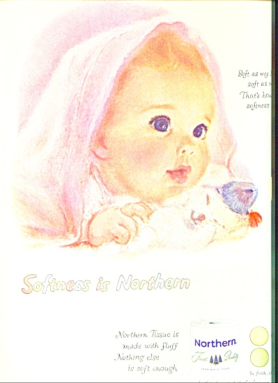 1959 -  Northern tissue ad (Image1)
