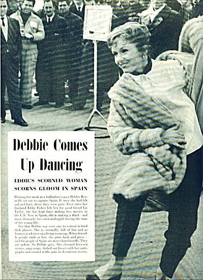 1959 -  DEBBIE REYNOLDS  in Spain (Image1)