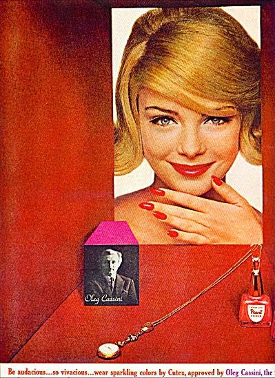1962 -  Cutex AD MODEL HEATHER HEWITT (Image1)