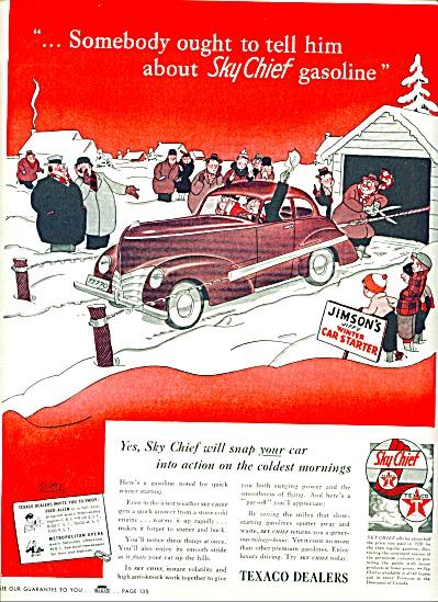 1941 - Texaco dealers ad (Image1)