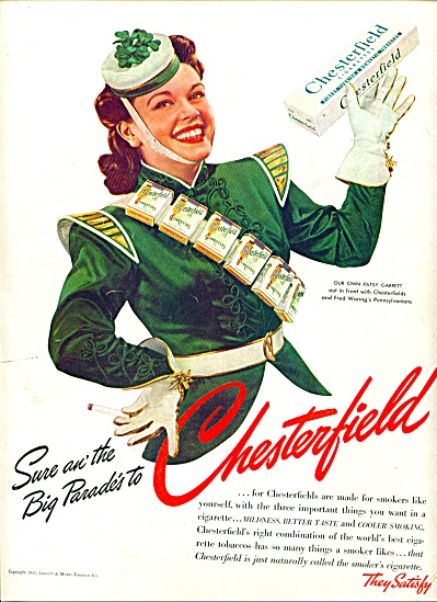 1941 - Chesterfield cigarettes.ad (Image1)
