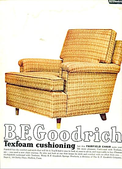 B. F. Goodrich texfoam cushioning ad 1957 (Image1)