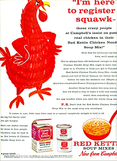 1962 - Red Kettle soup mixes -Campbell's (Image1)