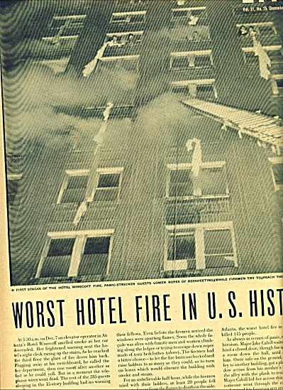 194 - Worst  hotel fire in U. S. History (Image1)