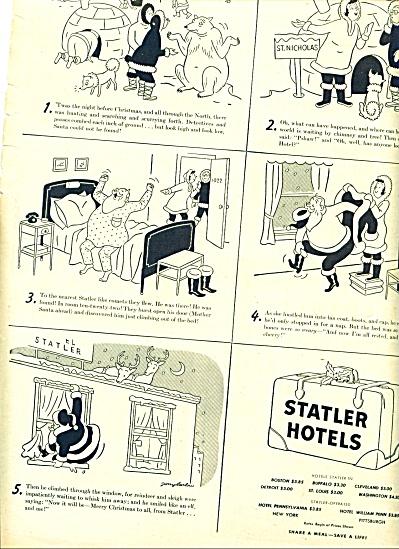 1941 -  Statler Hotels ad (Image1)