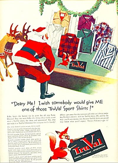 1941 - TruVal shirts, pajamas,sportswear ad (Image1)