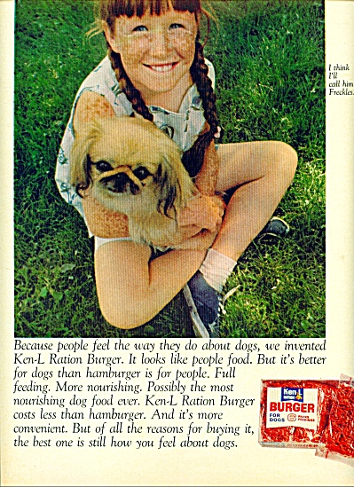 1968 - Ken-L ration burger for dogs. (Image1)
