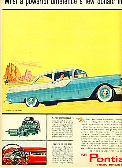 1955-  Pontiac auto for 1955 (Image1)