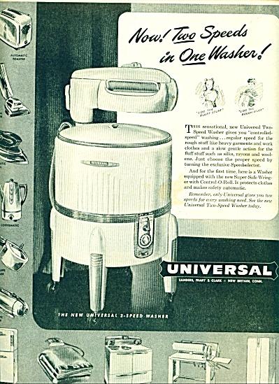 1947 -  Universal washing machine ad (Image1)
