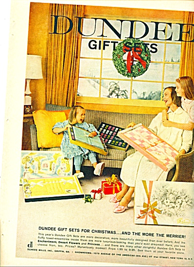 1959 - Dundee gift sets ad (Image1)