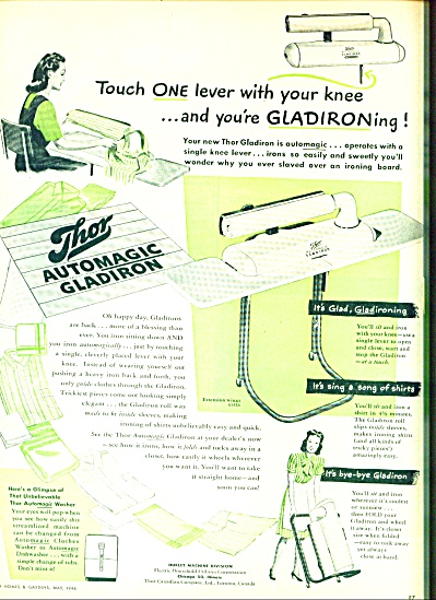 1946 -  Thor automagic gladiron ad (Image1)