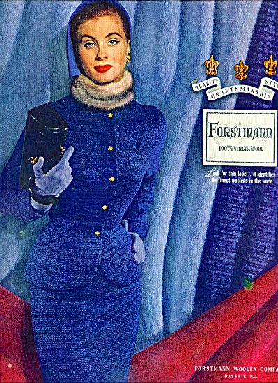 1952 - Forstmann woolen company  ad (Image1)