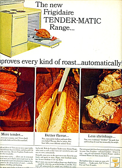 Frigidaire range ad 1965 (Image1)