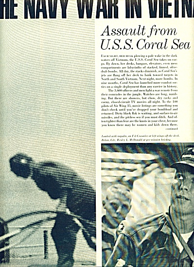 1965 - Navy War in  Vietnam - LBJ Changed war (Image1)
