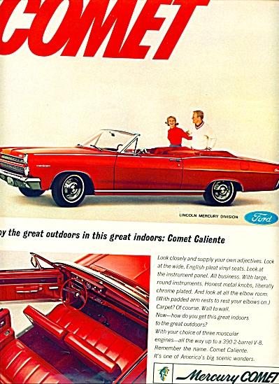 1965 - Mercury Comet auto ad (Image1)