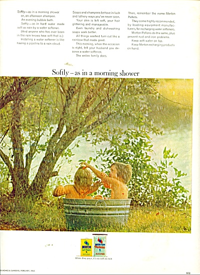 Morton Salt  pellets ad 1965 (Image1)
