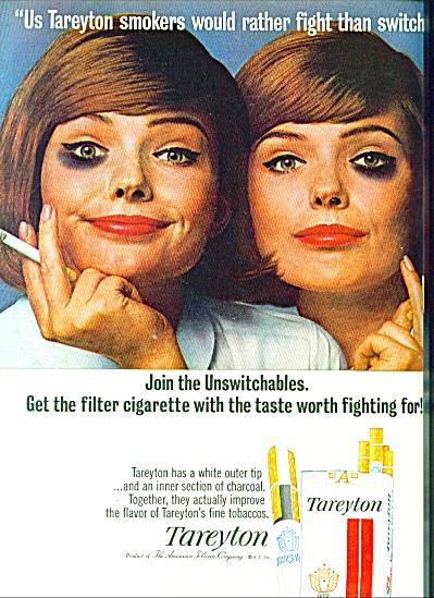 1965 -  Tareyton cigarettes ad (Image1)