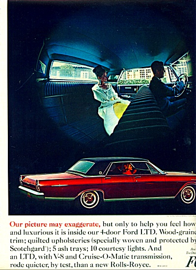 1965 -  Ford LTD auto ad (Image1)