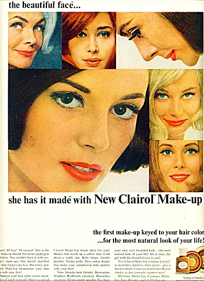 1965 -  Clairol make up ad (Image1)