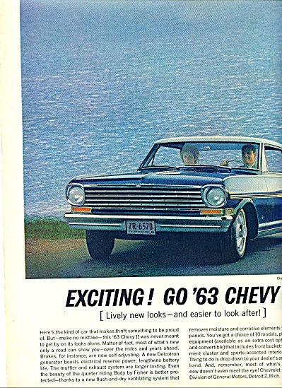1962 -  Chevy II Nova for 1963 (Image1)