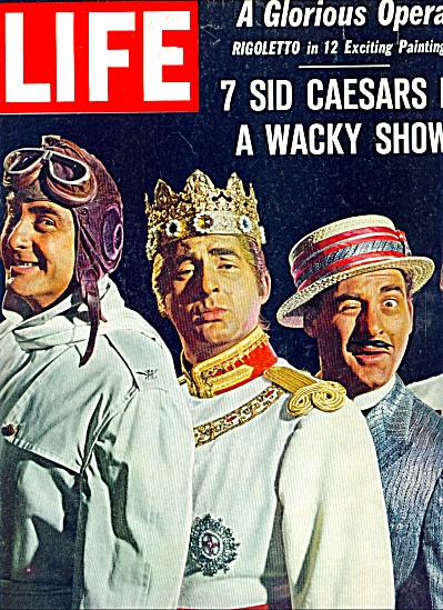 1962 - SID CAESAR  - Crazy and classy. (Image1)