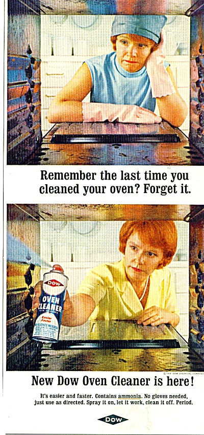 Dow oven cleaner ad 1965 (Image1)