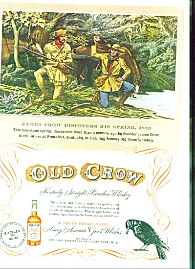 1949 -  Old Crow Whiskey ad (Image1)