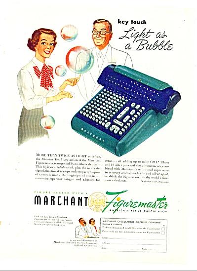 1949 - Marchant figuremaster calculator ad (Image1)