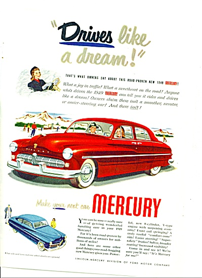 1949 - Ford Mercury Auto. For 1949