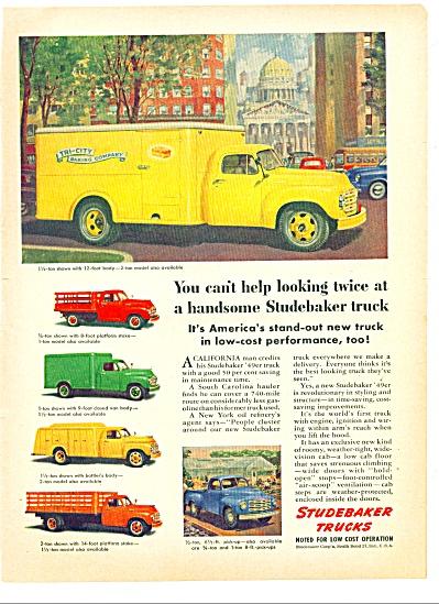 1949 -  Studebaker trucks ad (Image1)