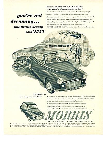 1949 - Morris automobiles ad (Image1)