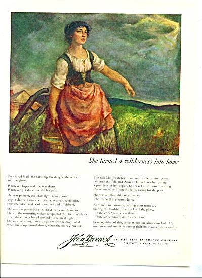 1949 - John Hancock Insurance. (Image1)