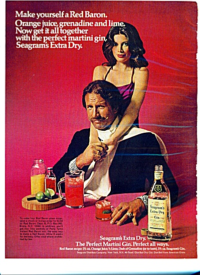 1973 -Seagrams extra dry gin.  ad (Image1)