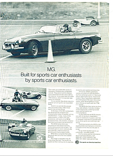 1973 - MG automobile ad (Image1)