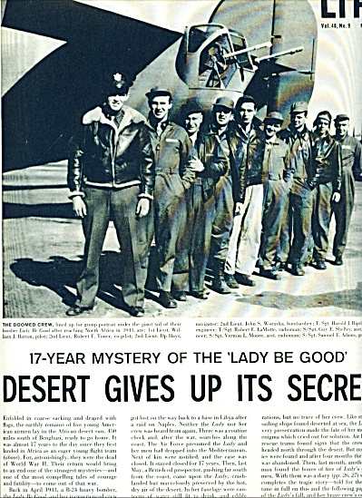 1960 -  17 year mystery of the Lady be Good (Image1)