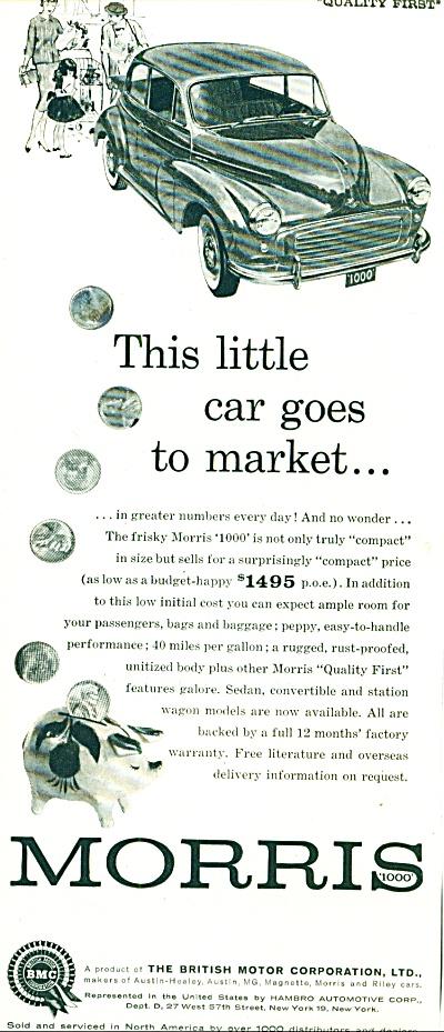 1960 -  Morris automobiles ad (Image1)
