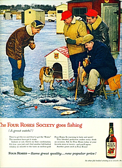 1960 - Four Roses whisky ad (Image1)