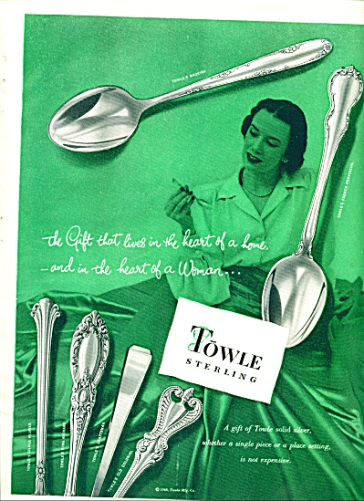 1948 - Towle Sterling Ad