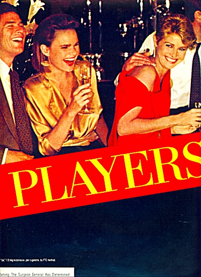 1983 - Players Kings cigarette ad (Image1)