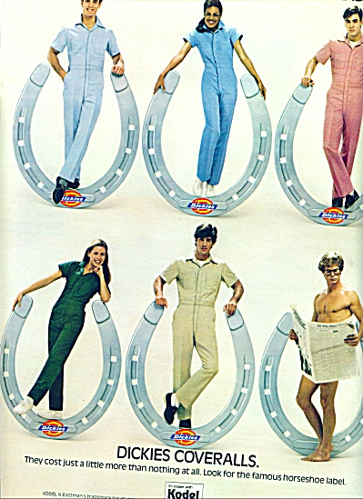 1983 -  Dickies coveralls ad (Image1)