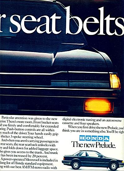 1983 -  Honda Prelude auto ad (Image1)