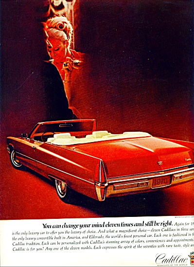 1970 - Cadillac Auto For 1970