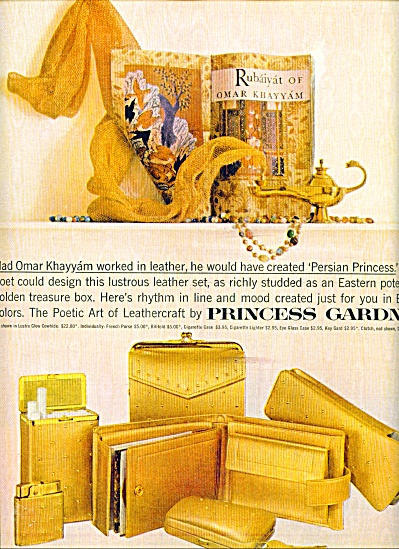 1960 -  Princess Gardner leathercraft ad (Image1)