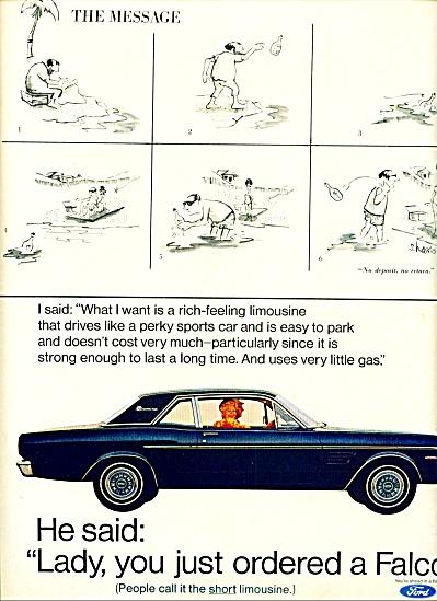 1967 -  Ford Falcon auto ad. (Image1)