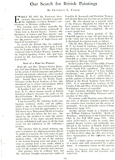 Our Search for Brxitish Paintings story 1949 (Image1)