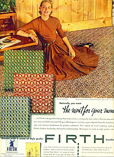 1952 - Firth carpets ad (Image1)