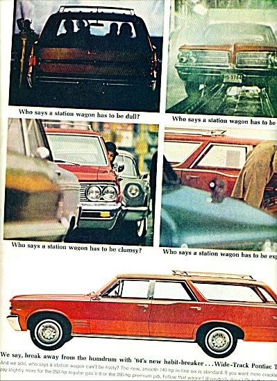 1964 -  Pontiac Tempest station wagon ad (Image1)