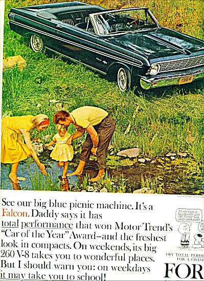 1964 -  Ford convertible ad (Image1)