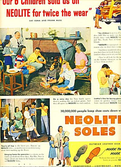 1949 -  Neolite soles ad (Image1)