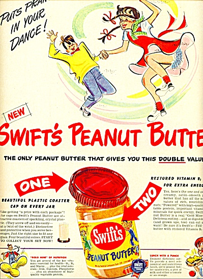 1949 - Swift's Peanut butter ad (Image1)
